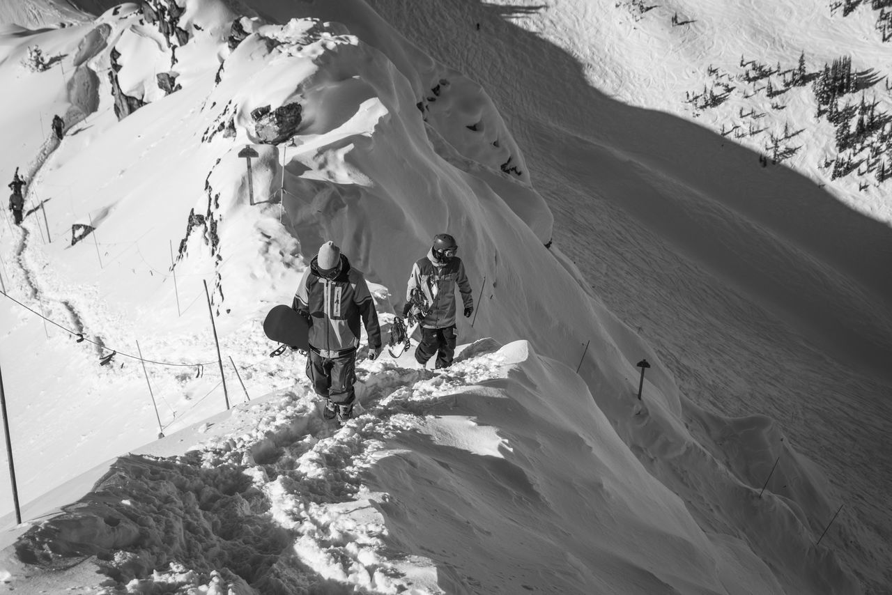 Black And White Blackandwhite Earn Your Turn Freeriding Hiking Mountains Skitour Snowboarder Snowboarding Touring Winter The Following Enjoy The New Normal Snow Sports