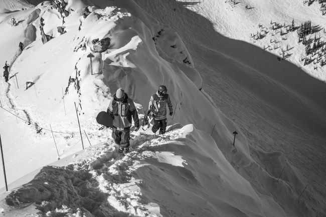 Black And White Blackandwhite Earn Your Turn Freeriding Hiking Mountains Skitour Snowboarder Snowboarding Touring Winter The Following