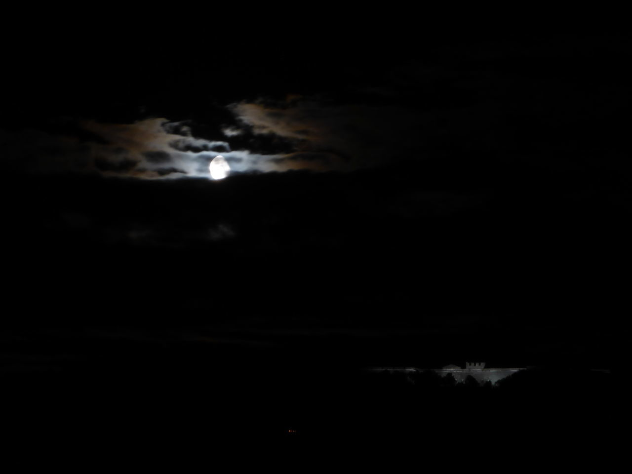 Cloud - Sky Dark Dreamlike Majestic Moon Moonlight Outdoors Scenics