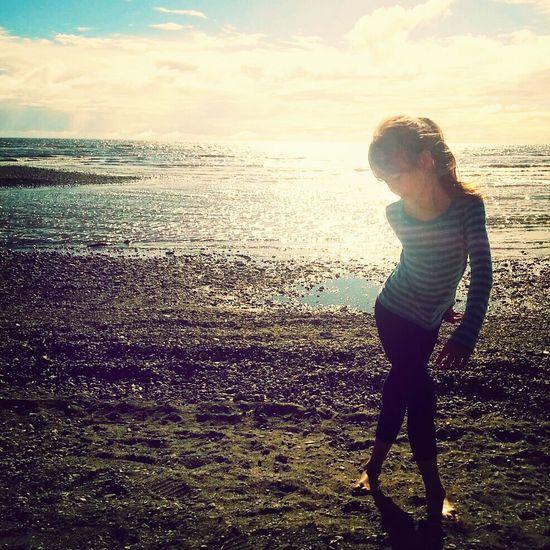 My niece. Niece  Model Gorgeous On The Beach