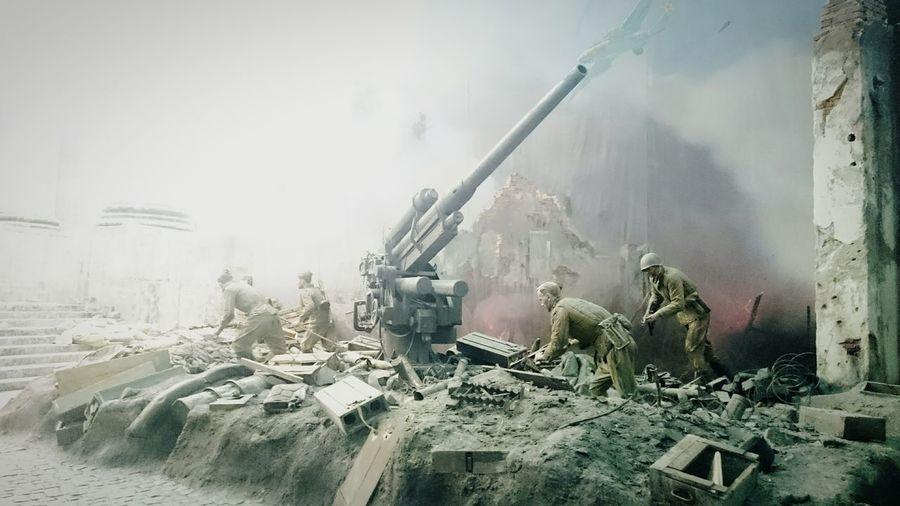 Russia Exhibition Museum War