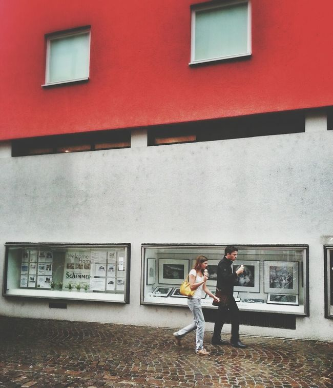 Ice Cream Sunday Andrographer Two By Two Freiburg Streetphoto_color