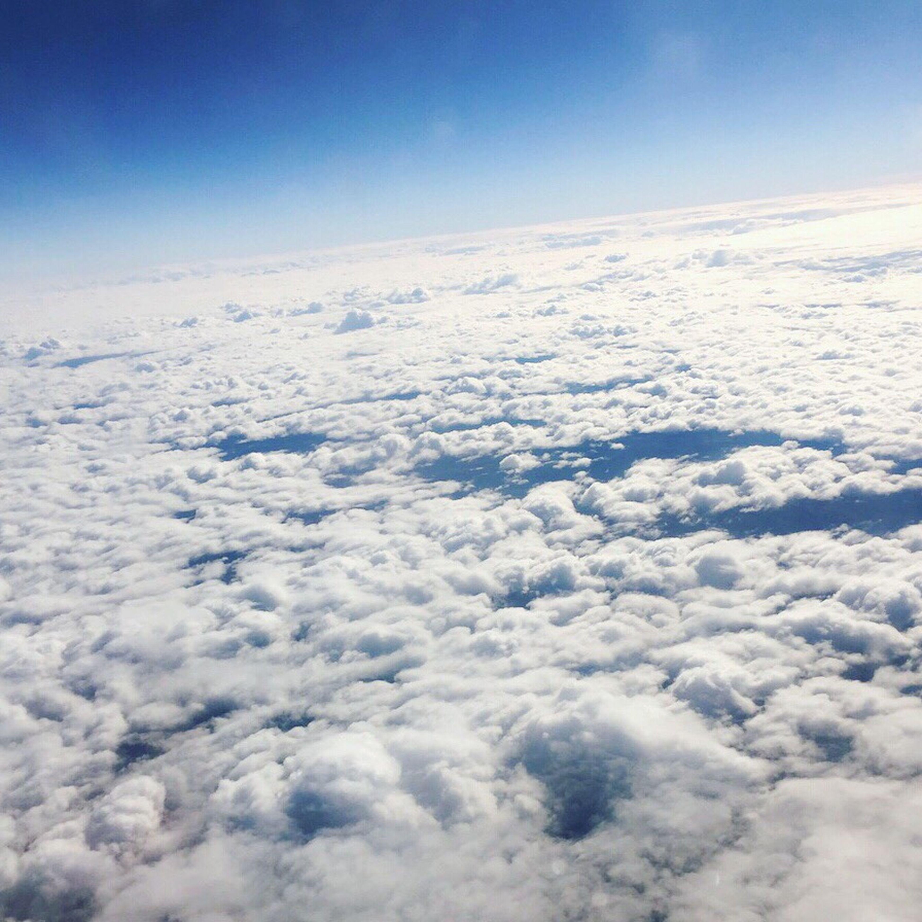 Sky Blue Cloud - Sky The Natural World небо небоизсамолета небо облака небо и облака