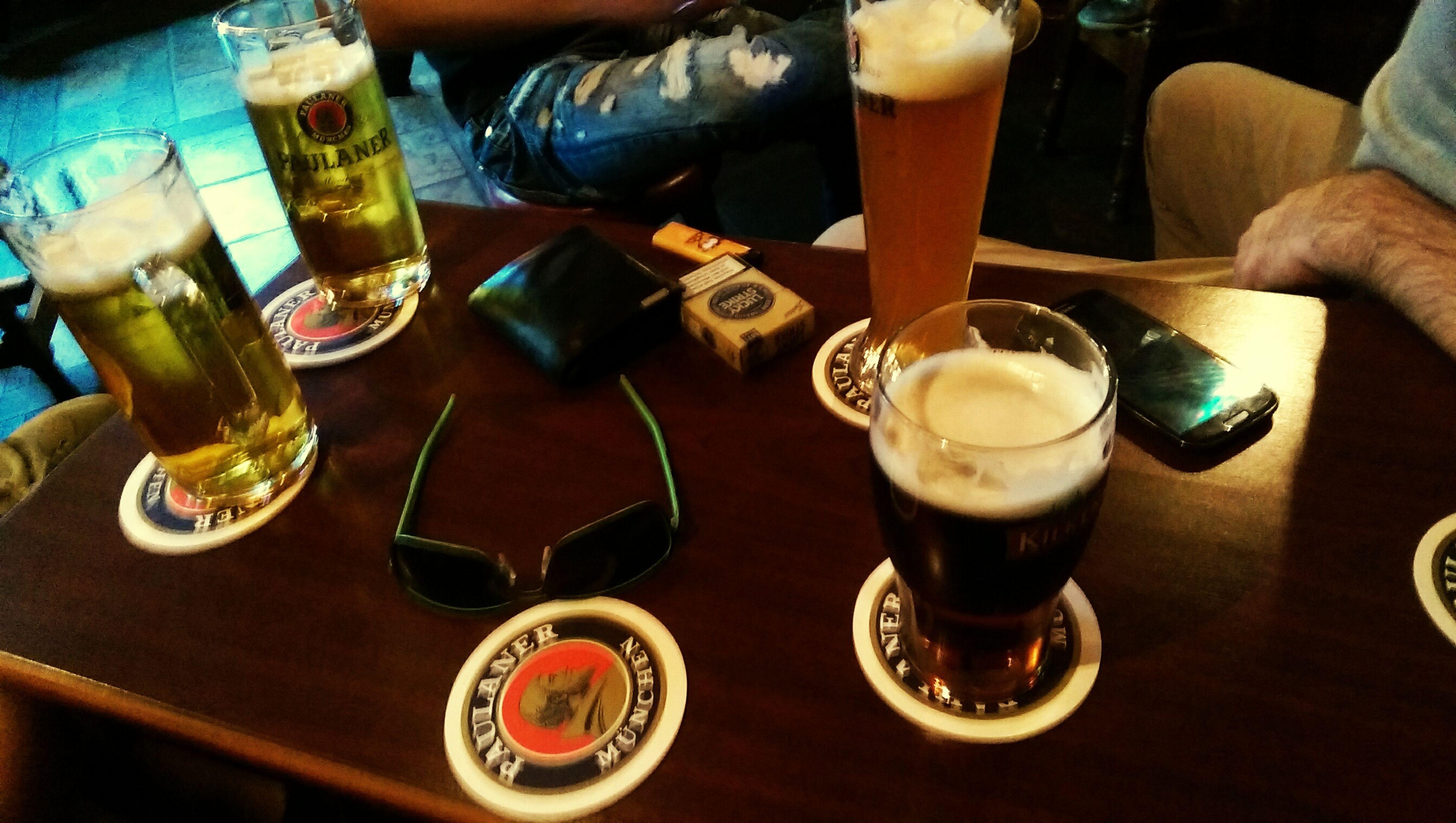Erstes Bier des Wochenende :p ManUtd Mancity