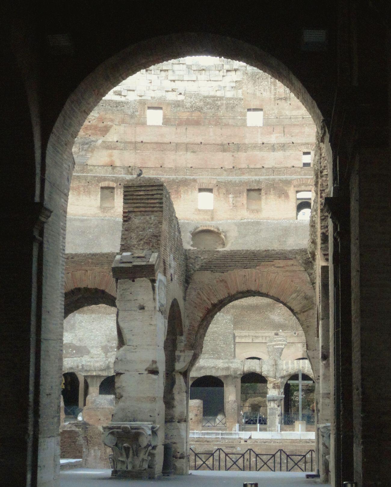 Coliseo Romano Roma Traveling Colosseo
