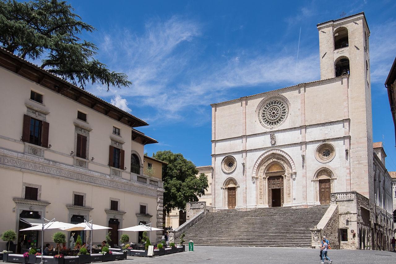 Main Square of Todi, Perugia, Italy. Architecture Blue Cloud - Sky Façade MedievalTown Perugia Perugia Italy Sky Todiefor Travel Destinations