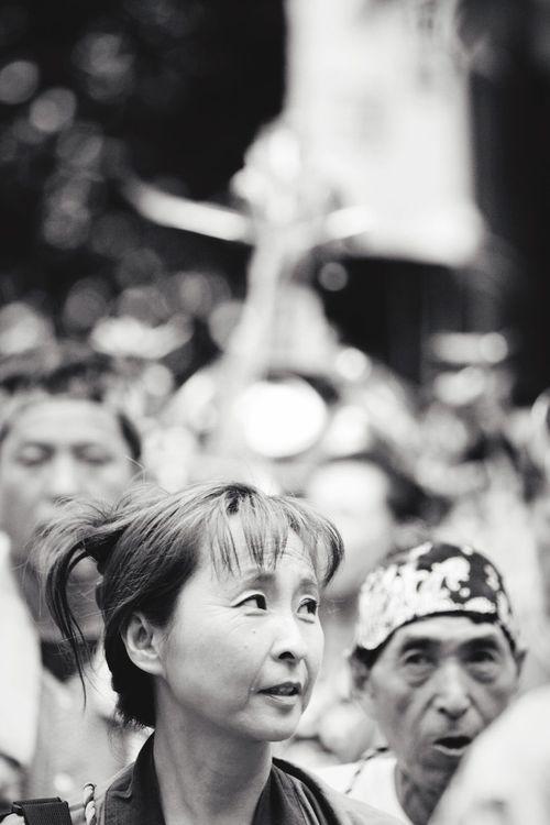 秋祭り♬ EyeEm Best Shots EyeEm Gallery Enjoying Life Kanagawa お神輿 Japanese Style Blackandwhite Photography Black And White 祭り