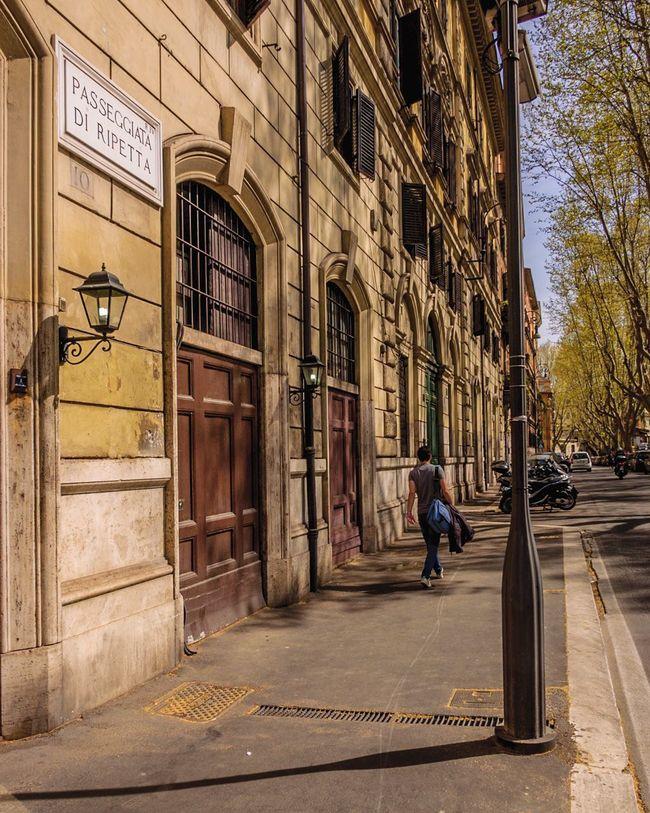 Passeggiata di Ripetta, Rome, Italy Architecture Building Exterior Centro Storico Città D'arte💋 City Citylife Italia Lungotevere Perspective Roma Street