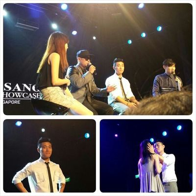 2013 LEESSANG 1ST Asia SHOWCASE (SINGAPORE)! cr: @cindiies! @Gaegun Leessang Showcase Singapore KangGary Gil 리쌍