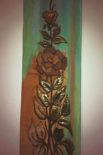 Picture Tuval Paint Painting Rosé Flowers