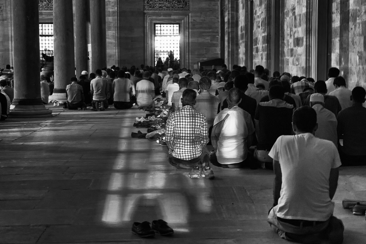 Prayers Architectural Column Building Casual Clothing City City Life Corridor Faith Flooring Group Of People Illuminated Islam Islam #Muslim #Alhamdulillah #Pray #Dua #Sujood #Proud2beamuslim #Blessed #Subhanallah #Beautiful #Muslimah Islamic Architecture Istanbul Turkey Leisure Activity Lifestyles Medium Group Of People Men, Women Moslem Moslem, Prayer, Praying, Reading, Koran, Mosque, Interior, Sitting, Faith, Belief, Islam Mosque Mosque Turkey Praying Reflect
