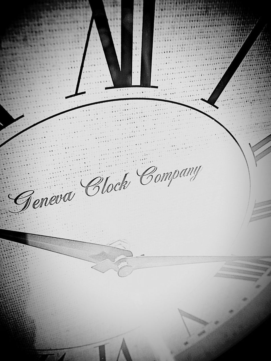 Only Time Will Tell Clock Time In Due Time Times Ticking Waiting... Where Are You? What Time Is It? Patience Black And White