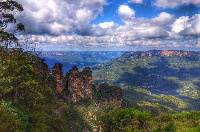 Australia Australian Photographers Australia & Travel Blue Montain The Three Sisters Travel Photography Travel Naturelovers Nature EyeEm Gallery Sydney Photography