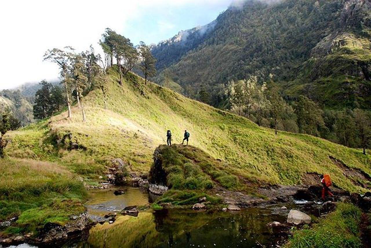 Bagus Landscape disekitar Danausegaraanak Gunungrinjani Lombok 2008. Nikon Travel Adventure Mountains Climber Natgeo Indomountain