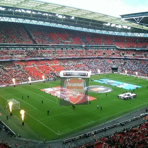 WEMBLEY. ARSENAL. FIRE. Wembley Arsenal Afc Uta fire nofilter