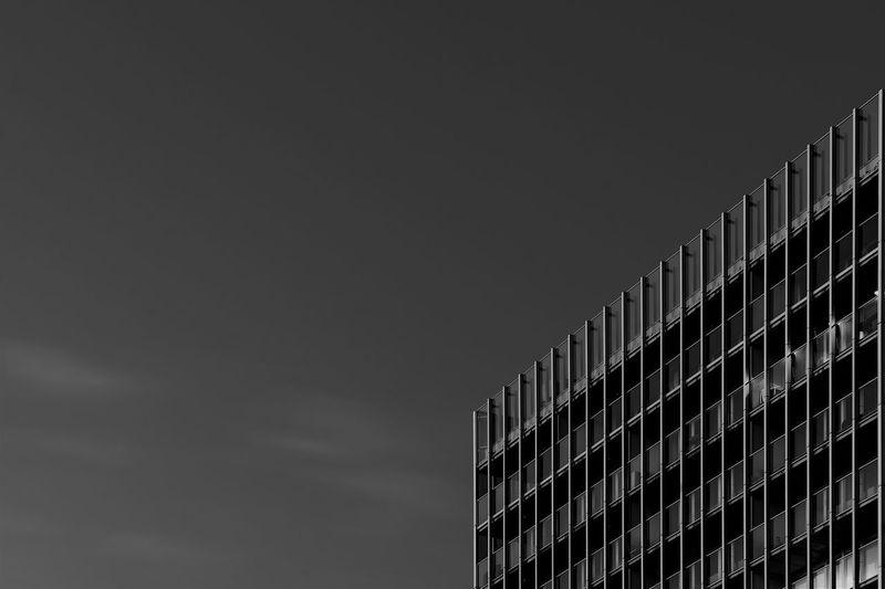 Rttdam[X] City Rotterdam Architecture Blackandwhite Building Building Exterior Outdoors Skyscraper