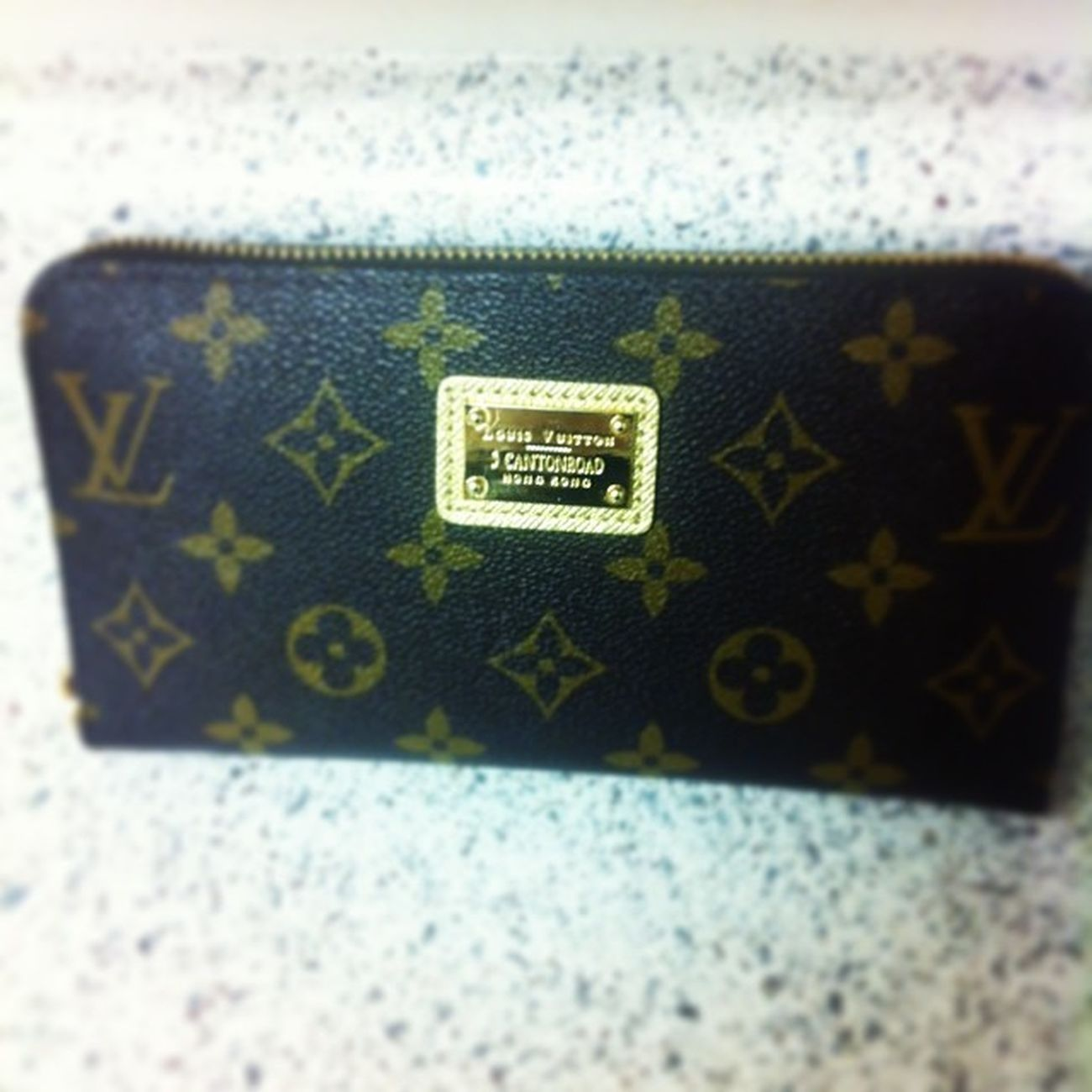 Present from my mom (: Wallet Louisvuitton Matcheslastyearspresent Christmas simplybeingalice