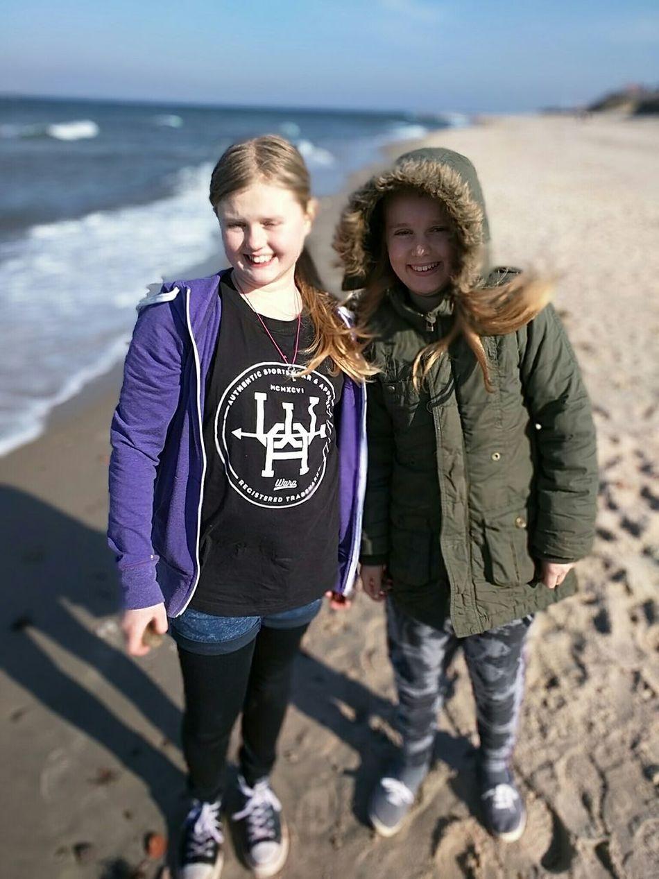 On The Beach Potrait