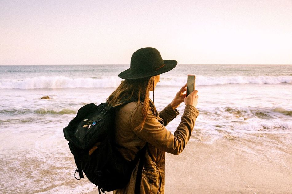 Beautiful stock photos of text message, Backpack, Beach, Beauty In Nature, Casual Clothing