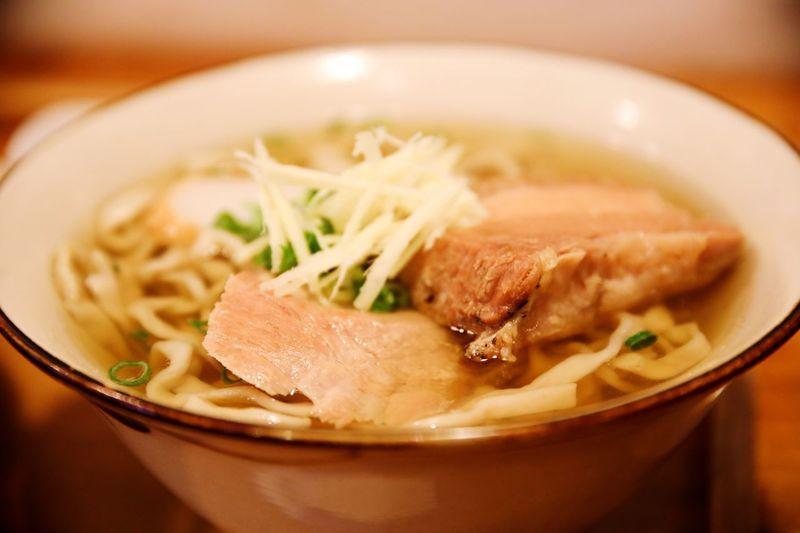 Okinawa soba @ Thishiraji-soba. Okinawa Soba