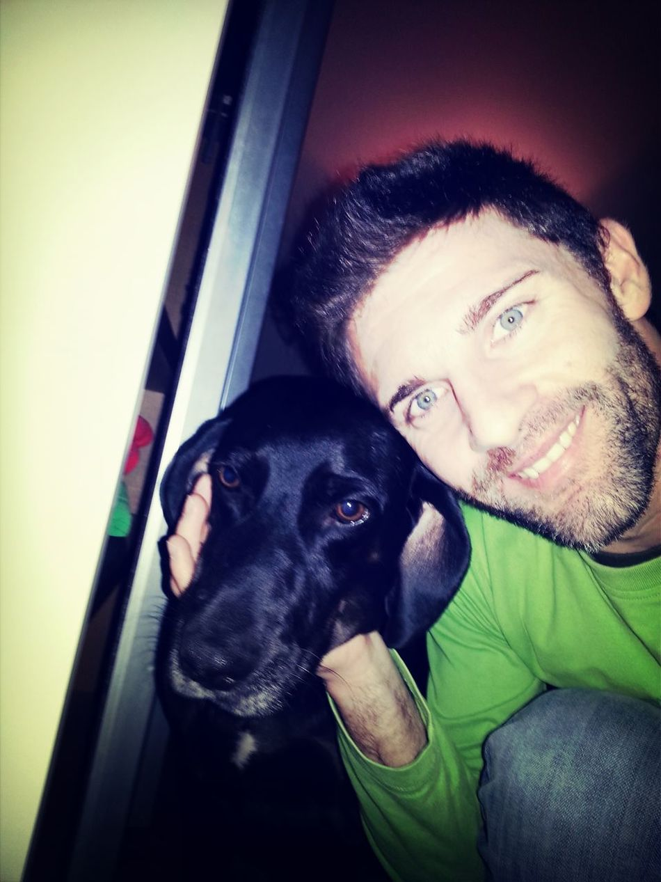 That's Me My Dog <3 Hello World Selfie