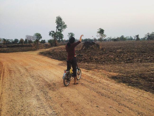 Nature country That's Me Juggling Enjoying Life Mlife Bicycle Sunset