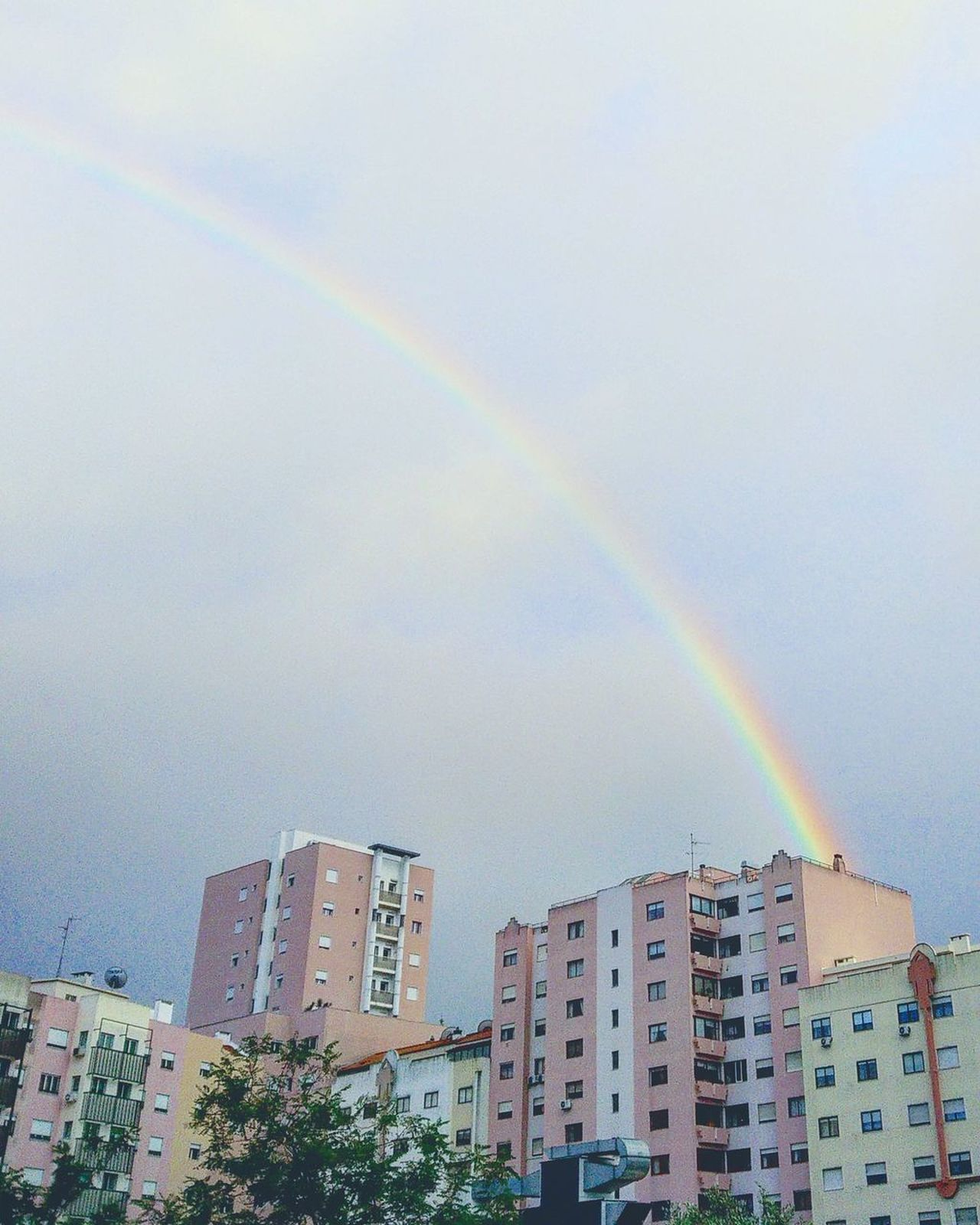 You Can See It.. But Can You Feel It Rainbow Architecture Phenomena