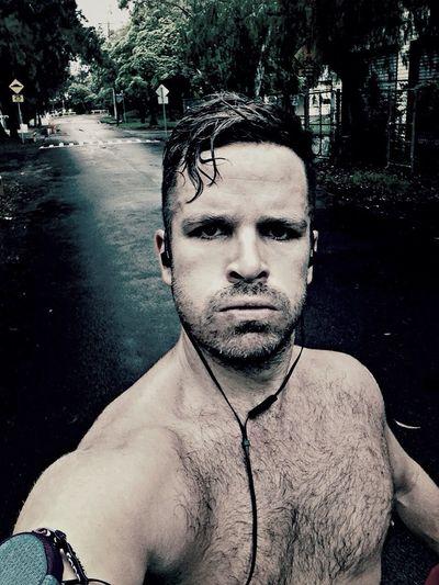 Running in the rain!!! Self Portrait Selfportrait Selfie Running Faces Of EyeEm People Australia IPhoneography ThatsMe