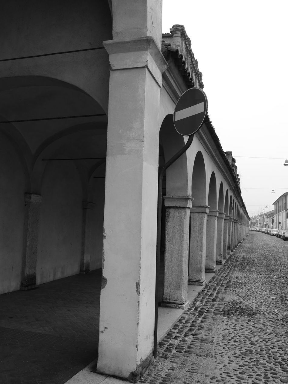 Arch Arched Architectural Column Architecture Black & White Black And White Blackandwhite Blackandwhite Photography Building Exterior Built Structure Clear Sky Day Diminishing Perspective History In A Row Italy Italy Holidays Long No People Outdoors Prospective Prospective Architecture_bw Streetphotography_bw Prospective Photography Prospectives The Way Forward