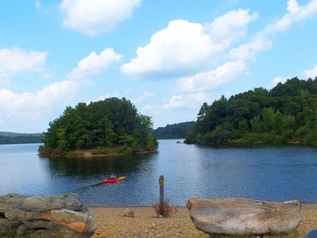 Views on the lake A Day On The Lake Beauty In Nature Boats And Water Connecticut Day Idyllic Kayaking Kayaking In Nature Lake Life Lake Living Lake View Lakeside Nature Non-urban Scene On The Lake Outdoors Remote Sailboat Scenics Sky Tranquil Scene Tranquility Tree Water Water Craft