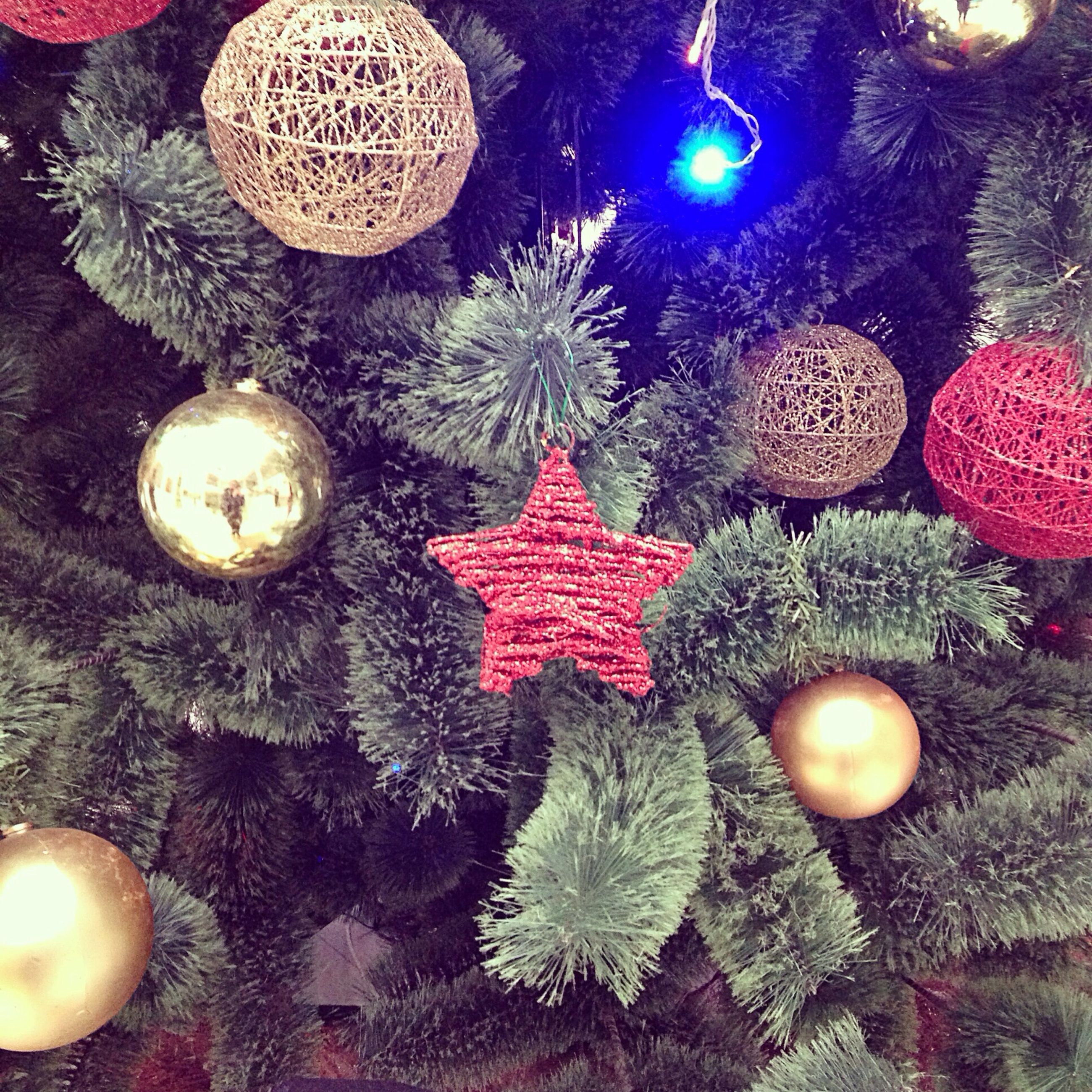 indoors, decoration, christmas, christmas decoration, christmas ornament, celebration, variation, high angle view, hanging, christmas tree, still life, illuminated, decor, table, tradition, no people, close-up, large group of objects, traditional festival, cultures