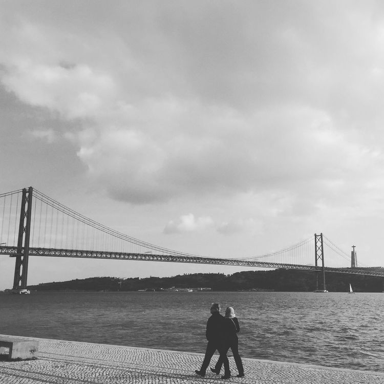 People Photography People Streetphotography Street Photography Architecture Bridge - Man Made Structure 25aprilbridge Lisbon Lisboa People And Places
