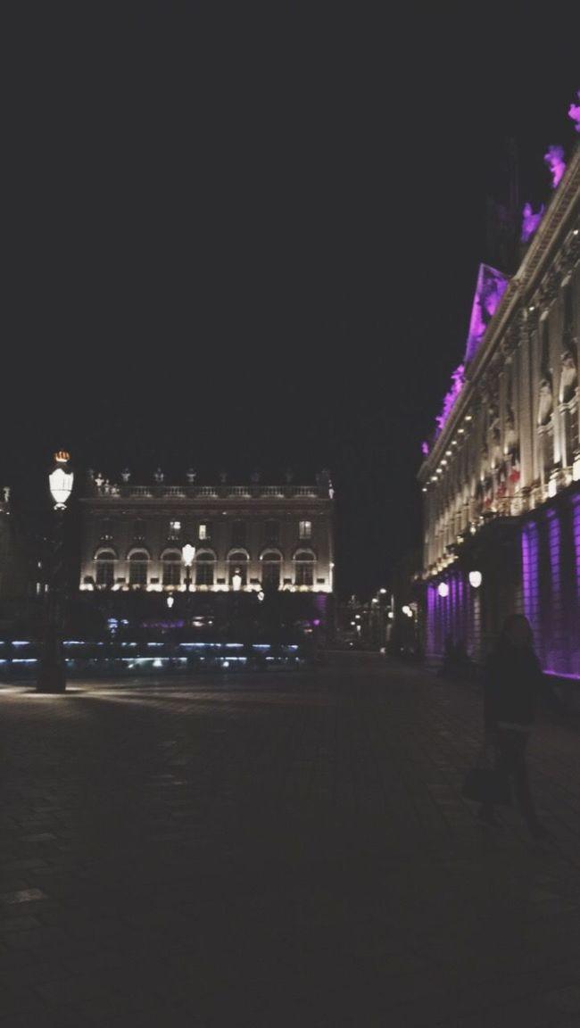 Night Illuminated Architecture Building Exterior City Dark City Life Nancy Place Stanislas, Nancy Place Stan