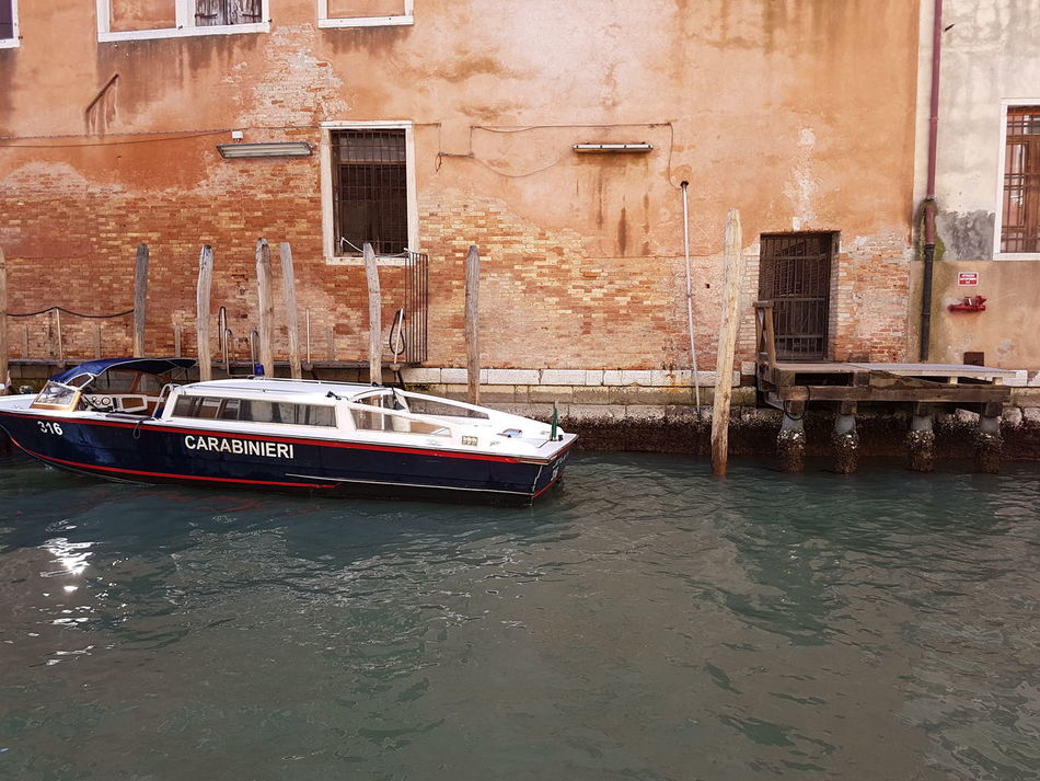 Building Exterior Built Structure Architecture Transportation Mode Of Transport Nautical Vessel Canal City Outdoors Water No People Day Venice, Italy Building Water Antique Old Stil