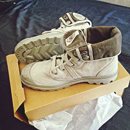 Palladium Boots Gris