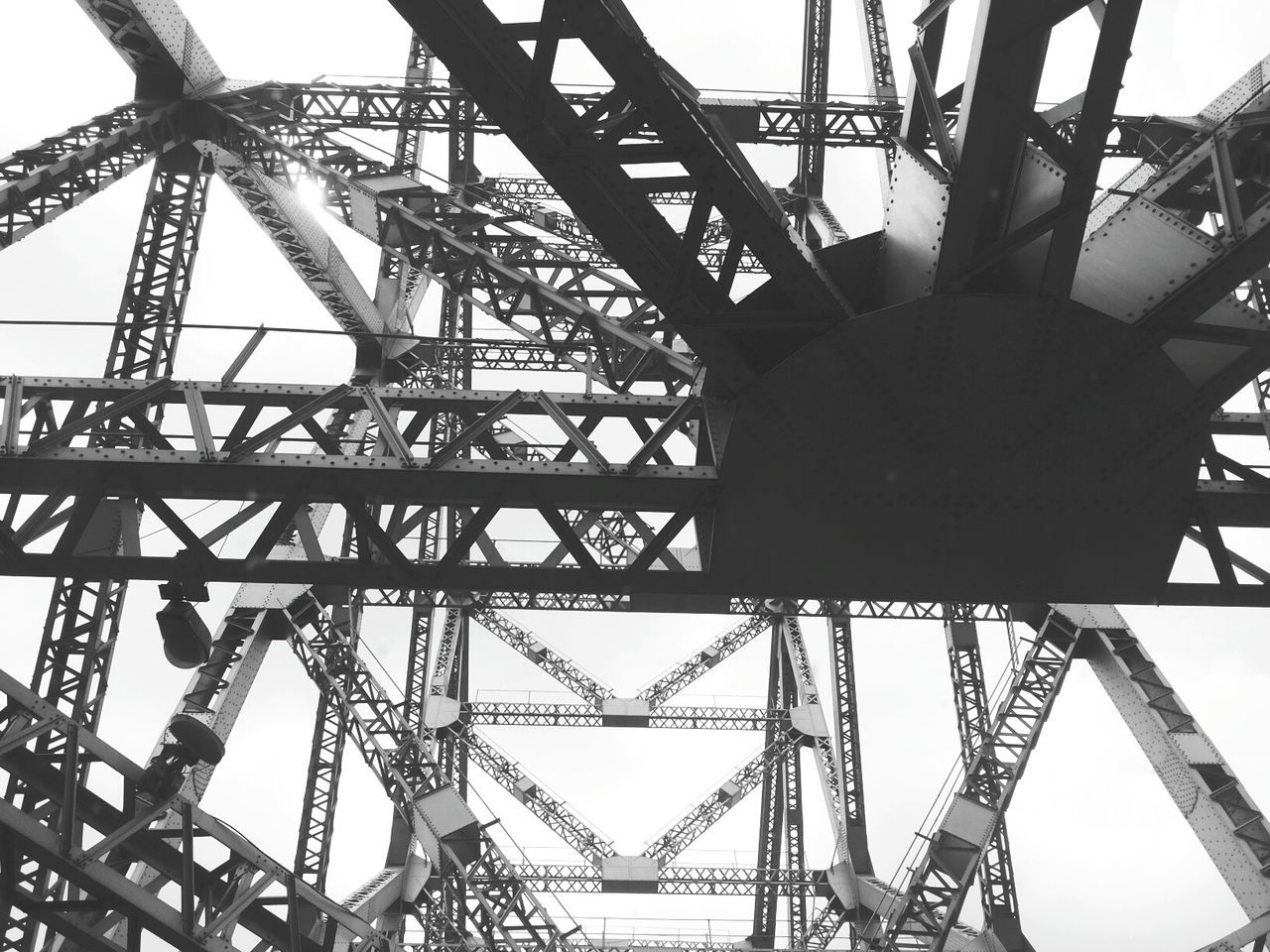 Blackandwhite My Smartphone Life Samsung Metal Bridge Trust Weights Suspension Generous 70 Years old Suspension bridge Hanging I look up in wonder and dare look down, someone whispers into my ears, faint air runs through my nostrils and I lay my head back with Trust....