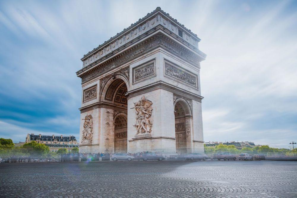 Architecture City Cloud - Sky Cultures Day History Monument No People Outdoors Paris Sky Tourism Travel Travel Destinations Tree Triumphal Arch