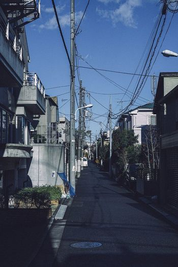 Japan Tokyo Cable Architecture Power Line  Electricity  Sky Built Structure The Way Forward
