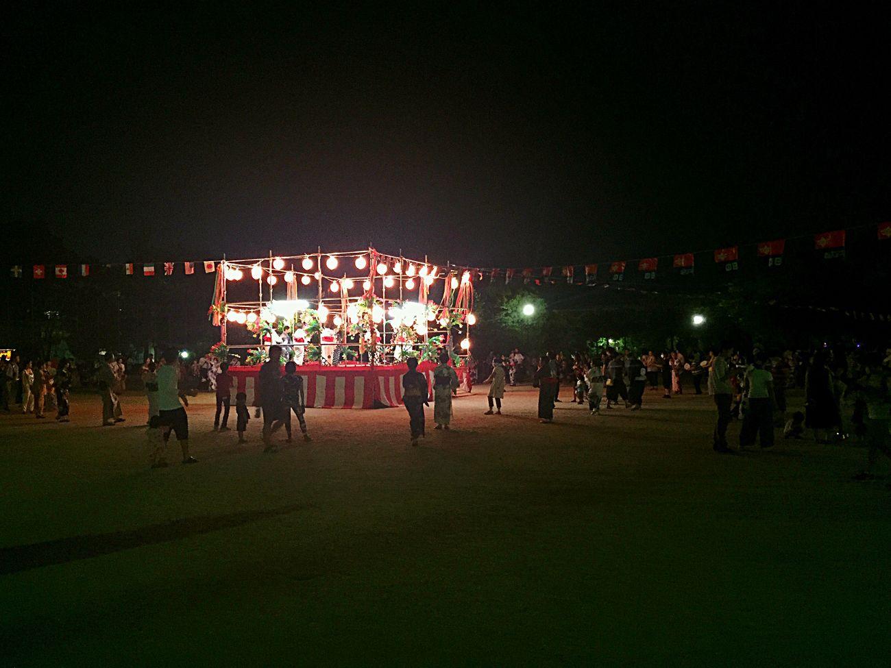 bon dance Festival Season Retro Festival Bondance お盆 盆踊り
