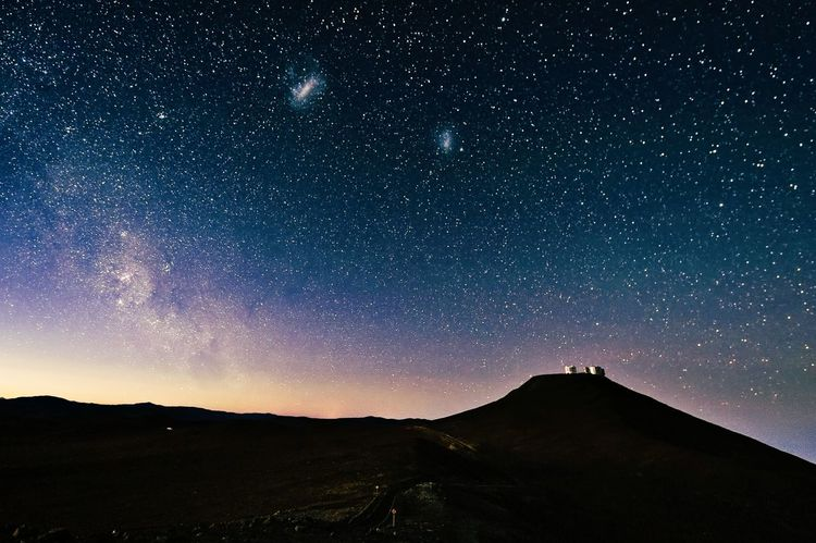 Star - Space Astronomy Night Space Space And Astronomy Sky Beauty In Nature Milky Way Galaxy Outdoors Nature No People Scenics Mountain Constellation