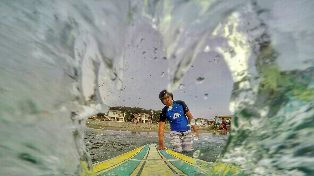 Splash! Surfing Launion Philippines First Eyeem Photo Nature Travel Travel Photography People Of The Oceans