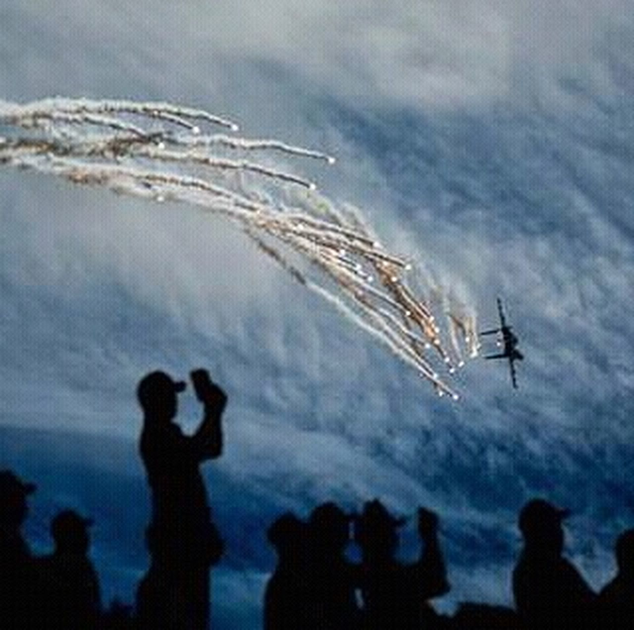 Flare show..... Airshow Airplane Silhouette Fighter Plane Aerobatics Military Airplane Formation Flying Nikond2x Beautiful Indonesia