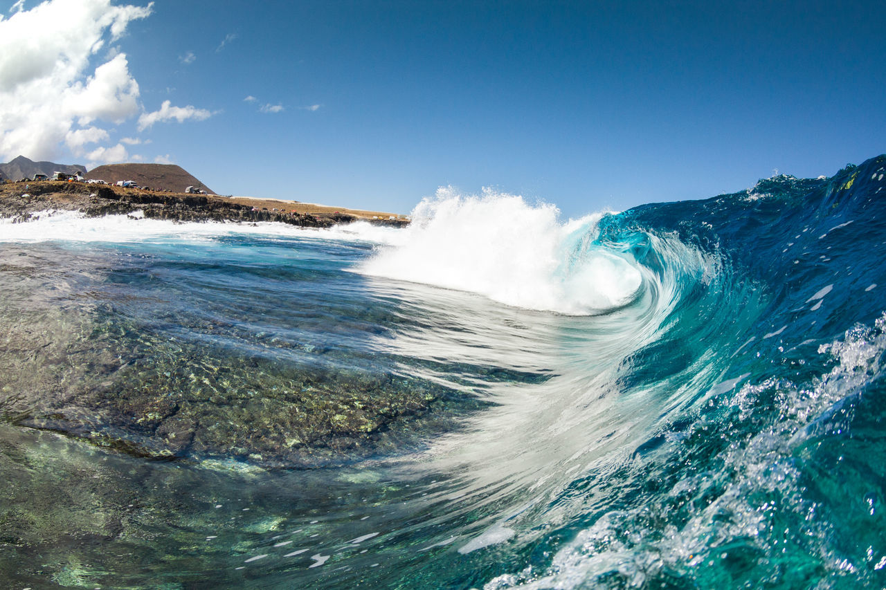 Beauty In Nature Blue Canary Islands Day EyeEm Nature Lover Motion Nature No People Ocean Ocean View Outdoors Power In Nature Scenics Sea Summer Summertime Surf Surfing Tenerife Water Wave Wave Waves Waves Crashing Waves, Ocean, Nature