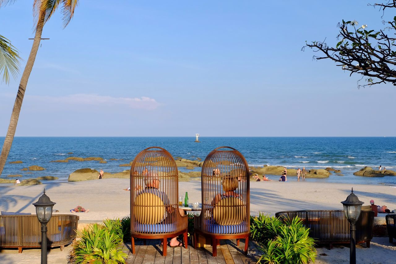 Beautiful stock photos of danke, Beach, Beauty In Nature, Chair, Day