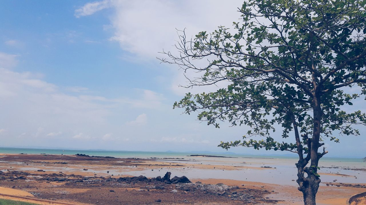 Sea Sand Beach Sky Beauty In Nature No People Holidays ☀ Memories ❤ Captured Moment Sea And Sky Postcard