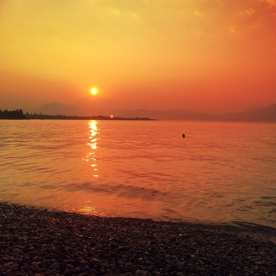 That.Hour. Beach Beach Life Beach Photography Beachphotography Beauty In Nature Calm Idyllic Majestic Nature No People Non-urban Scene Orange Color Outdoors Reflection Remote Rippled Scenics Sky Summer Summertime Sun Sunset Tranquil Scene Tranquility Water