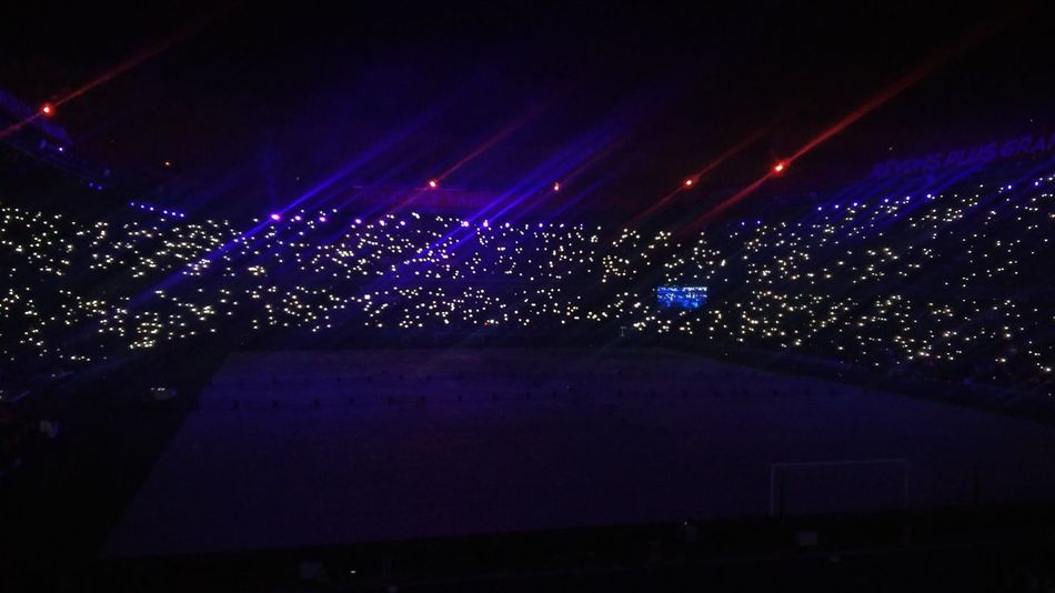 Parc des Princes at night. PSG  Paris Saint Germain Paris Night First Eyeem Photo Football Stadium Sport Sports