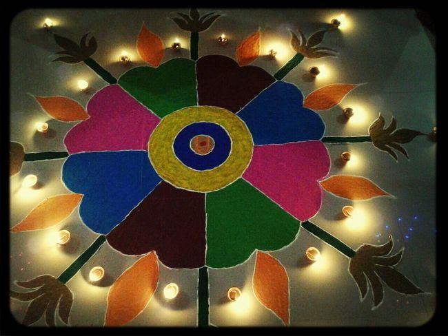 This is called Rangoli Diwali Celebration First Eyeem Photo