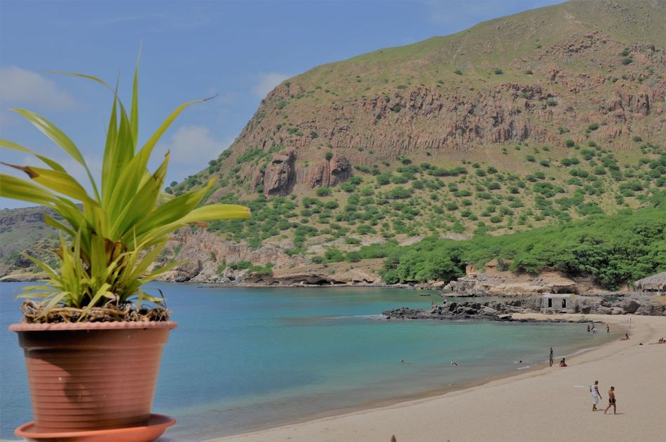 Beach Beauty In Nature Blue Capo Verde Day Landscape Nature No People Outdoors Sea Sky Water