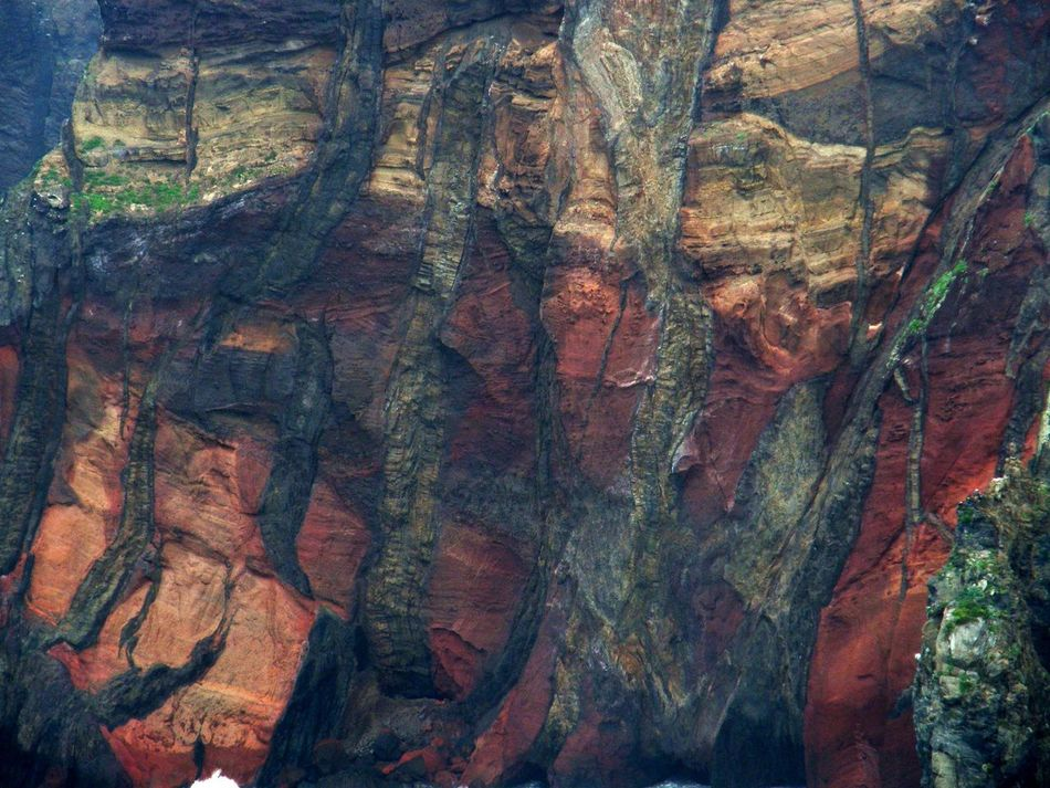 Backgrounds Day Earth Layers Geology Layers Layers And Colors Madeira Nature No People Outdoors Rock Face